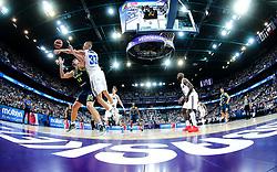 Gasper Vidmar of Slovenia vs Erik Murphy of Finland during basketball match between National Teams of Finland and Slovenia at Day 3 of the FIBA EuroBasket 2017 at Hartwall Arena in Helsinki, Finland on September 2, 2017. Photo by Vid Ponikvar / Sportida
