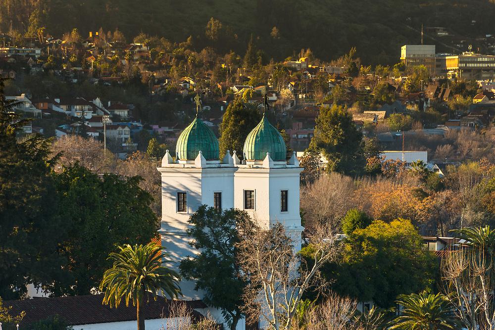 Los Dominicos church in Las Condes district, Santiago de Chile