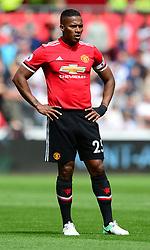 Luis Antonio Valencia of Manchester United - Mandatory by-line: Alex James/JMP - 19/08/2017 - FOOTBALL - Liberty Stadium - Swansea, England - Swansea City v Manchester United - Premier League