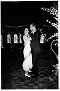 Andrea Reynolds and Claus von Bulow.  Thyssen wedding Ball, Daylesford House. 20 September 1985.© Copyright Photograph by Dafydd Jones 66 Stockwell Park Rd. London SW9 0DA Tel 020 7733 0108 www.dafjones.com
