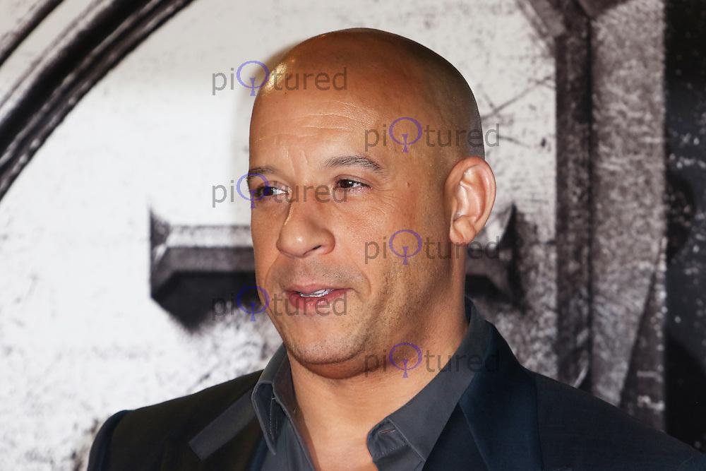 Vin Diesel, The Last Witch Hunter - European film premiere, Leicester Square, London UK, 19 October 2015, Photo by Richard Goldschmidt