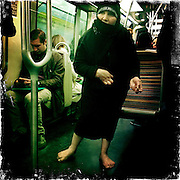 Paris, France. April 20th 2012.In the parisian subway
