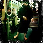 Paris, France. April 20th 2012.In the parisian subway