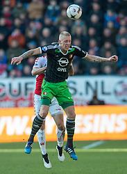 01-03-2015 NED: FC Utrecht - Feyenoord, Utrecht<br /> In de Galgenwaard voltrok zich een inspiratieloos duel en eindigde dan ook in 0-0 / Lex Immers #10