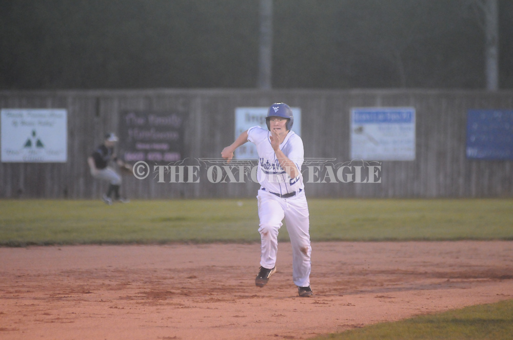 Water Valley vs. Mooreville in Water Valley, Miss. on Friday, April 5, 2013. Water Valley won 7-1.