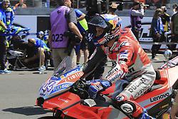 May 20, 2018 - Le Mans, France - 4 ANDREA DOVIZIOSO (ITA) DUCATI TEAM (ITA) DUCATI DESMOCEDICI GP18 (Credit Image: © Panoramic via ZUMA Press)