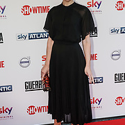 London,England,UK. 6th April, 2017. Denise Gough attends the UK premiere of Sky Original Production Guerrilla at The Curzon,Bloomsbury,London,UK. by See Li