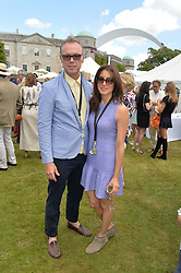 GARY KEMP and LAUREN KEMP at the Cartier hosted Style et Lux at The Goodwood Festival of Speed at Goodwood House, West Sussex on 29th June 2014.