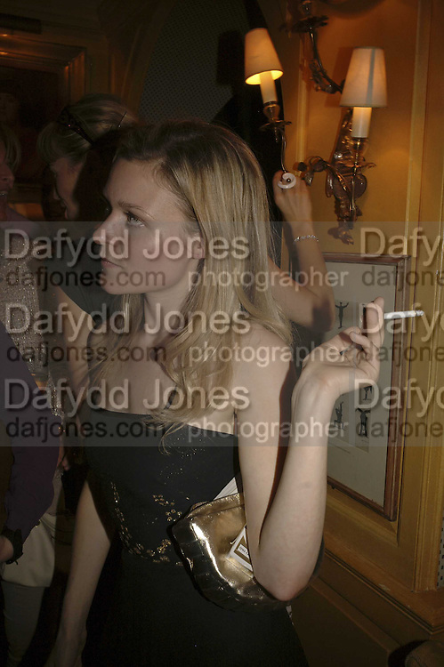 Hermione Eyre. r, Plum Sykes, book launch party, Annabel's, Berkeley Square, London, W1,10 May 2006.  Matthew Williamson, Catherine Vautrin, Laudomia Pucci host party to celebrate 'The Debutante Divorcee'. ONE TIME USE ONLY - DO NOT ARCHIVE  © Copyright Photograph by Dafydd Jones 66 Stockwell Park Rd. London SW9 0DA Tel 020 7733 0108 www.dafjones.com