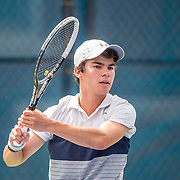 August 20, 2016, New Haven, Connecticut: <br /> Shawn H. Hadavi in action during a US Open National Playoffs match at the 2016 Connecticut Open at the Yale University Tennis Center on Saturday, August  20, 2016 in New Haven, Connecticut. <br /> (Photo by Billie Weiss/Connecticut Open)