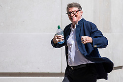 © Licensed to London News Pictures. 08/07/2018. London, UK. Peter Mandleson arrives at BBC Broadcasting House to appear on Sunday Politics. Photo credit: Rob Pinney/LNP