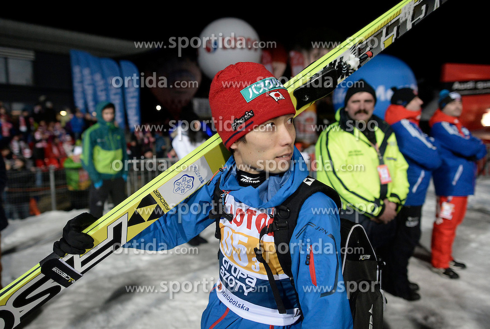 17.01.2015, Wielka Krokiew, Zakopane, POL, FIS Weltcup Ski Sprung, Zakopane, Herren, Teamspringen, im Bild Daiki Ito // during mens Large Hill Team competition of FIS Ski Jumping world cup at the Wielka Krokiew in Zakopane, Poland on 2015/01/17. EXPA Pictures &copy; 2015, PhotoCredit: EXPA/ Newspix/ Irek Dorozanski<br /> <br /> *****ATTENTION - for AUT, SLO, CRO, SRB, BIH, MAZ, TUR, SUI, SWE only*****