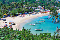Sri Lanka, province du sud, district de Galle, plage d'Unawatuna // Sri Lanka, Southern Province, South Coast beach, Galle district, Unawatuna beach