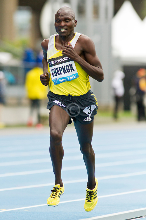 adidas Grand Prix Diamond League professional track & field meet: mens 5000 meters, Vincent Kiprop CHEPKOK, Kenya