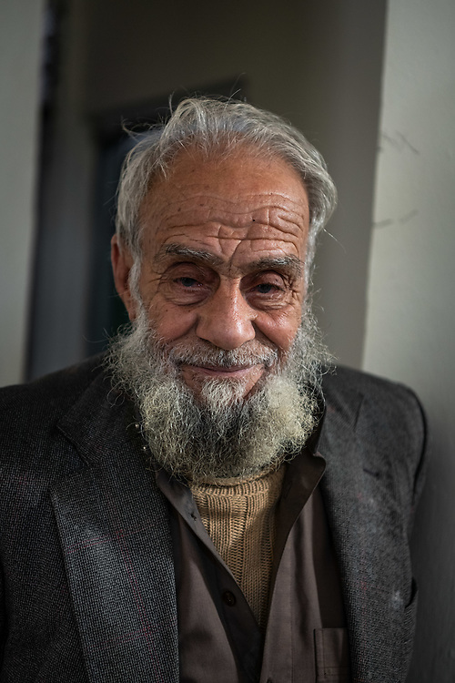 4 February 2019 – Mosul – Iraq – Father of seven Mishal Mohammed Hassan, 80, is pictured his home in West Mosul, which was occupied by ISIS and burned by the militants when they left. <br /> <br /> Mishal's house is now being rehabilitated with the support of UNDP's Funding Facility for Stabilization (FFS), which is supporting the rehabilitation of ten thousand homes across West Mosul, helping displaced families return home. <br /> <br /> © UNDP Iraq / Claire Thomas