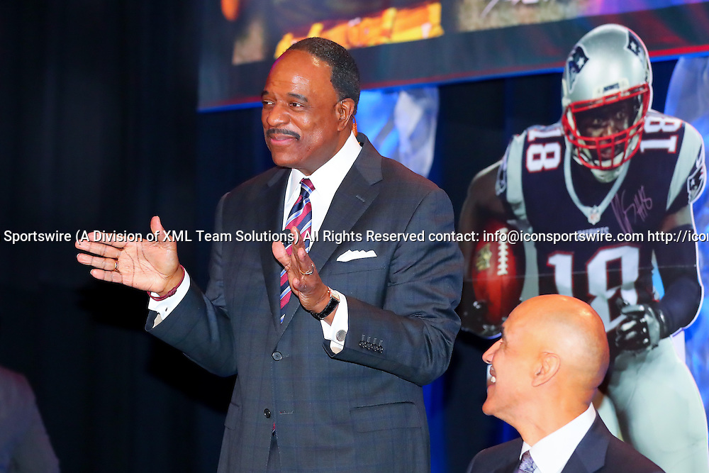 HOUSTON, TX - FEBRUARY 04:  James Brown during the Bart Starr Award Super Bowl Breakfast on February 04, 2017, at the Marriott Marquis in Houston, Texas.  (Photo by Rich Graessle/Icon Sportswire)