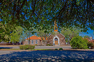 Marfa, Texas, St Pauls Episcopal Church, built 1930, art deco