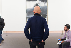 Alex Katz talks about the Franz Kline Black, White and Gray in the Contemporary galleries at The Metropolitan Museum of Art for Artist Project 2015 episode. © 2015 MMA, photographed by Jackie Neale