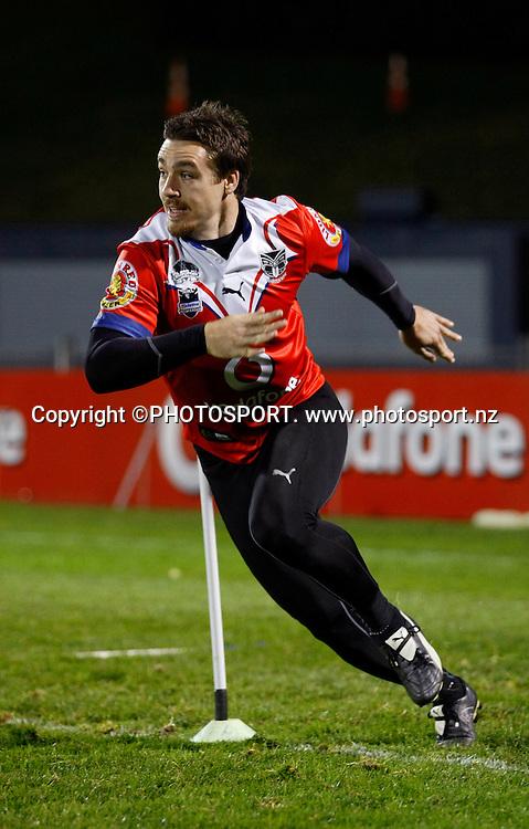 Michael Witt. Vodafone Warriors Training Session, Mt Smart Stadium, Auckland. Wednesday 06 August 2008. Photo: Simon Watts/PHOTOSPORT