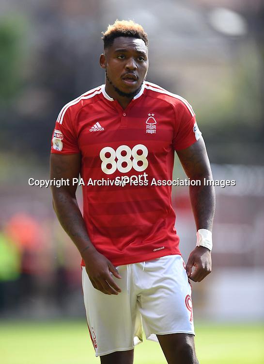 Nottingham Forest's Britt Assombalonga
