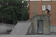 Paul Rimmer, Ollie on a Roof, Hackney Town Hall, London 2006