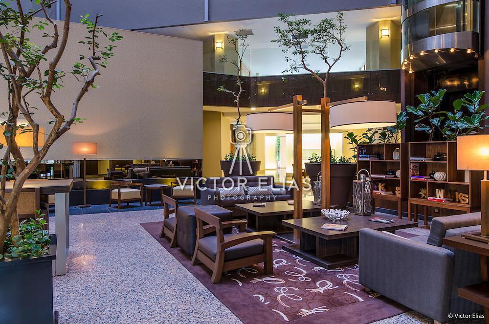 Sheraton Santa Fe hotel. Mexico city.