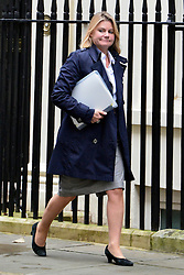 © Licensed to London News Pictures. 23/10/2012. Westminster, UK Int. Development Secretary Justine Greening. Ministers attend a Cabinet Meeting in 10 Downing Street today 23 October 2012. Photo credit : Stephen Simpson/LNP