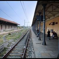 stazione di Susa  binari sporchi