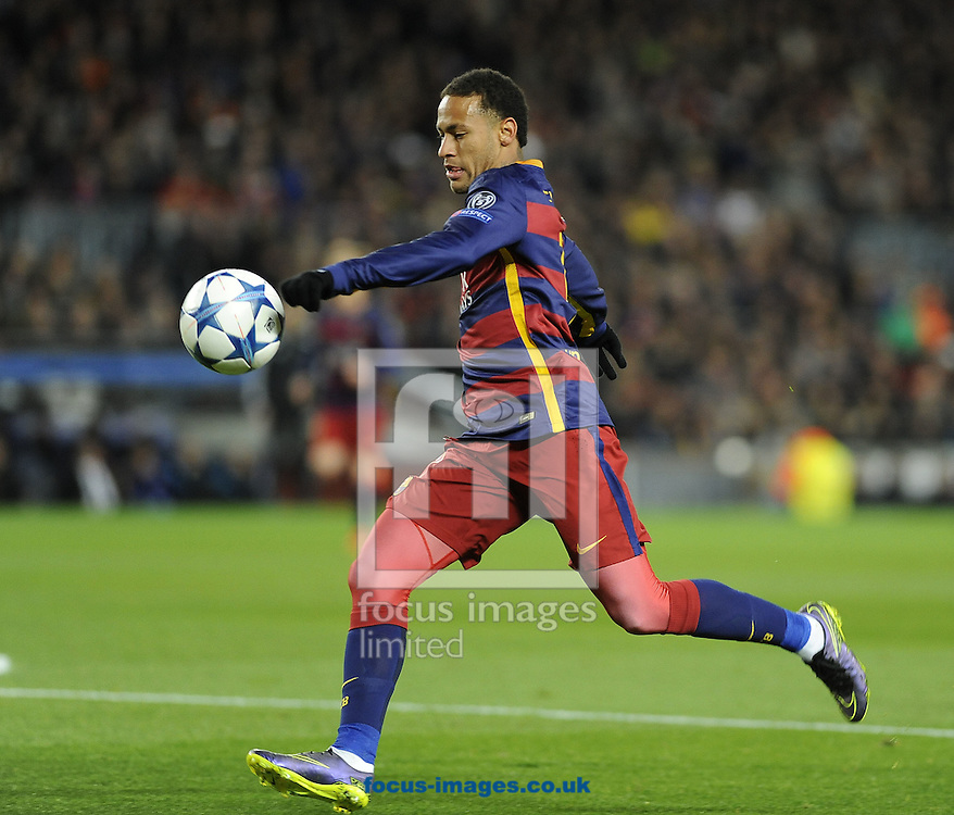 Neymar of FC Barcelona during the UEFA Champions League match at Camp Nou, Barcelona<br /> Picture by Stefano Gnech/Focus Images Ltd +39 333 1641678<br /> 24/11/2015