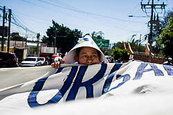 Hundreds marched on international water day to the Salvadoran Sugar Industry Headquarters to protest against lobbying for a bill that would privatize water services.