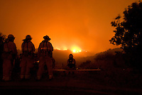 Jesusita Fire, Santa Barbara, California, 2009. The fire began on May 5th, 2009, and destroyed close to 9,000 acres in the hills of Montecito and Santa Barbara. In 5 days, 80 homes were destroyed and 15 were damaged from the wildfire.