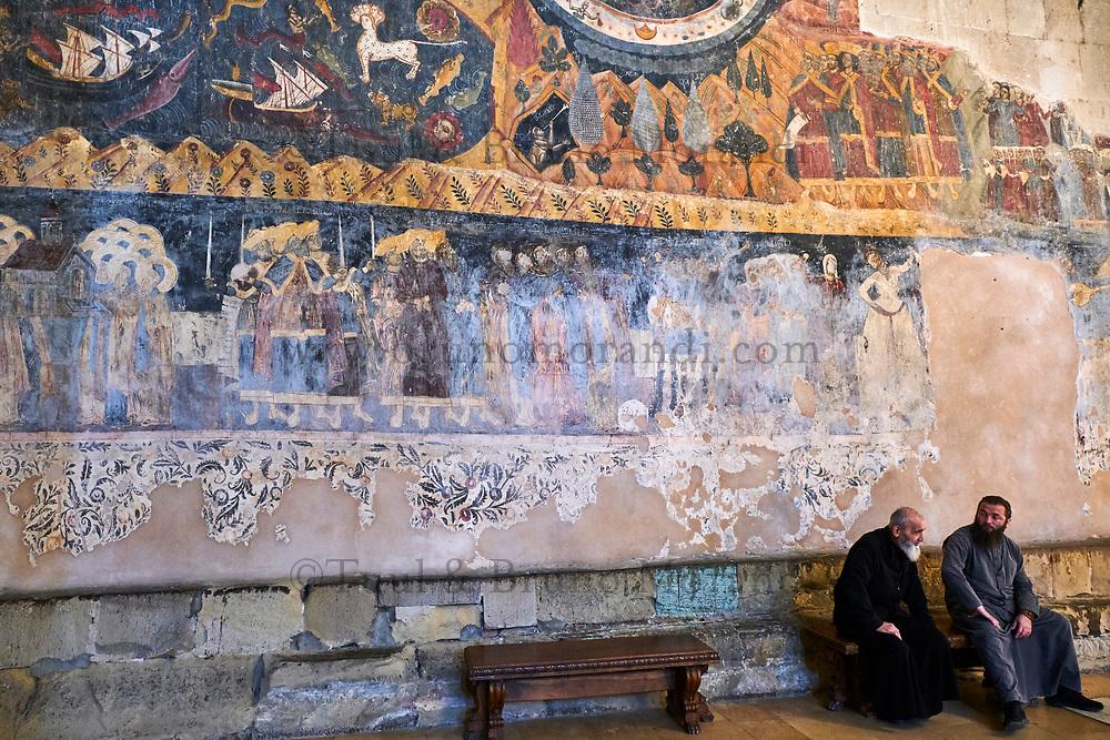Georgie, Caucase, région de Mtskheta-Mtianeti, Mtskheta, ville spirituelle où le christianisme a été établi en 327 après JC, cathédrale Svétiskhvéli // Georgia, Caucasus, Mtskheta-Mtianeti region, Mtskheta,  Svétiskhvéli cathedral