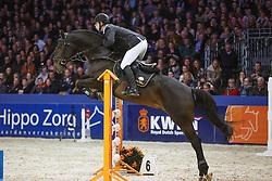Ellermann Hanno (NED) - Starpower<br /> KWPN Stallion Selection - 's Hertogenbosch 2014<br /> © Dirk Caremans