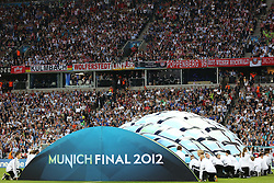 19.05.2012, Allianz Arena, Muenchen, GER, UEFA CL, Finale, FC Bayern Muenchen (GER) vs FC Chelsea (ENG), im Bild The 2012 UEFA Champions League Final played at the Allianz Arena Munich, and contested by Englnd's Chelsea and Germany's Bayern Munich. Mandatory credit Mitchell Gunn.