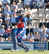 2005 Twenty/20 Cricket England vs Australia, The Rose Bowl, Southampton, Hampshire, ENGLAND 13.06.2005, Geraint Jones..Photo  Peter Spurrier. .email images@intersport-images...