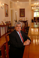 Serge Abou, the European Union's ambassador at his residence on June 28th 2007.