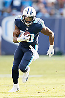 NASHVILLE, TN - DECEMBER 3:  DeMarco Murray #29 of the Tennessee Titans runs the ball during a game against the Houston Texans at Nissan Stadium on December 3, 2017 in Nashville, Tennessee.  The Titans defeated the Texans 23-14.  (Photo by Wesley Hitt/Getty Images) *** Local Caption *** DeMarco Murray