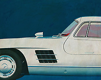 The 1964 Mercedes 300SL Gullwings is currently the most popular and therefore also the most expensive car. Its lines, appearance and history are legendary. Every visitor to your interior will notice this painting and appreciate your sense of design. –<br />