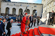 04.10.2016. Copenhagen, Denmark.  <br /> Queen Margrethe, Crown Prince Frederik attended the opening session of the Danish Parliament (Folketinget) at Christiansborg Palace in Copenhagen, Denmark.<br /> Photo: &copy; Ricardo Ramirez