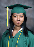 Sharpstown High School 2016 valedictorian Raven McIntosh.