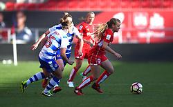 Olivia Fergusson of Bristol City Women in action against Reading FC Women - Mandatory by-line: Paul Knight/JMP - 22/04/2017 - FOOTBALL - Ashton Gate - Bristol, England - Bristol City Women v Reading Women - FA Women's Super League 1 Spring Series