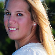 Sept 3, 2008 -- Senior Portraiture of Charlotte Eaton, Age 18. Photo by Roger S. Duncan.
