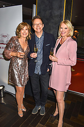 28 January 2020 - Penny Smith, Simon Mayo and Anneka Rice at the Costa Book Awards 2019 held at Quaglino's, 16 Bury Street, London.<br /> <br /> Photo by Dominic O'Neill/Desmond O'Neill Features Ltd.  +44(0)1306 731608  www.donfeatures.com