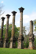 Historical Windsor Ruins in Natchez Mississippi Sunday March 18,,2012. © Suzi Altman.