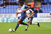 Wycombe Wanderers defender Anthony Stewart in action  during the EFL Sky Bet League 1 match between Bolton Wanderers and Wycombe Wanderers at the University of  Bolton Stadium, Bolton, England on 15 February 2020.