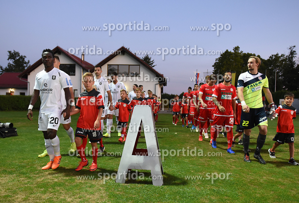during football match between NK Aluminij and NK Olimpija in 6st Round of Prva liga Telekom Slovenije 2019/20, on August 18, 2019 in Sportni park NK Aluminij, Kidricevo, Slovenia. Photo by Milos Vujinovic / Sportida