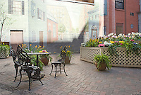 Patio at 250 Mercer St