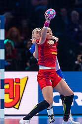 14-12-2018 FRA: Women European Handball Championships Russia - Romania, Paris<br /> First semi final Russia - Romania 28 - 22 / Crina-Elena Pintea #21 of Romania, Anna Sen #8 of Russia