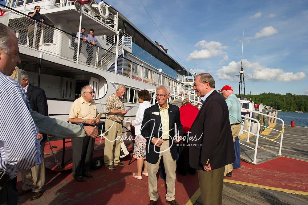 Belknap County Republican Cruise night on the MS Mt Washington.  Karen Bobotas/ for the Laconia Daily Sun