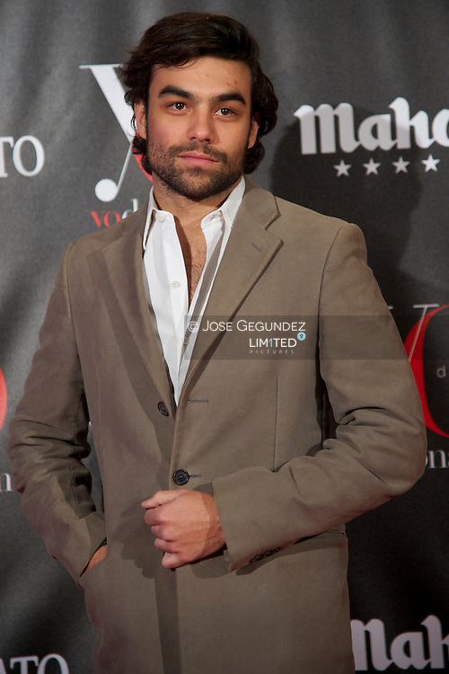 Diego Osorio attends 'Yo Dona' Magazine's Mask Party at Casino on 18 February, 2013 in Madrid